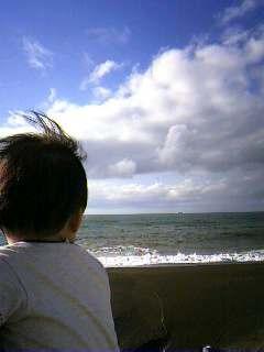 すっかり秋の海